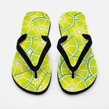 Limes Flip Flops