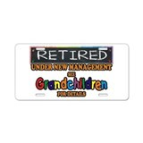Funny retirement License Plates