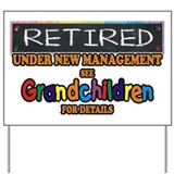 Funny retirement Yard Signs