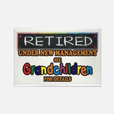 Retired Under New Management Magnets