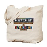 Funny retirement Canvas Totes