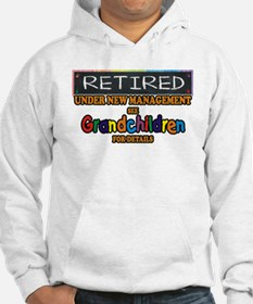 Retired Under New Management Hoodie