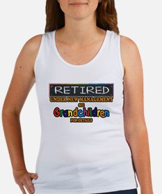 Retired Under New Management Tank Top