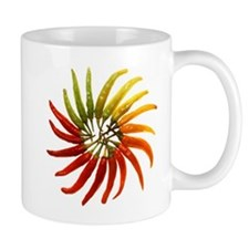 Charleston Hot Peppers Color Wheel Mugs