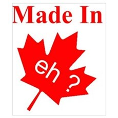 made in eh? Poster