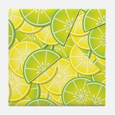 Lemon Lime Tile Coaster