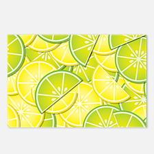 Lemon Lime Postcards (Package of 8)