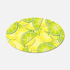 Lemon Lime Wall Decal