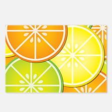 Citrus Fruit Postcards (Package of 8)