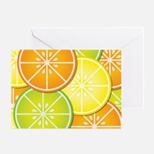 Citrus Fruit Greeting Card