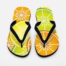 Citrus Fruit Flip Flops