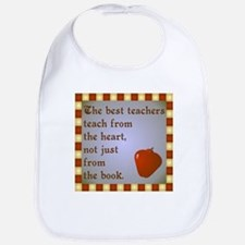 Scott Designs Teachers Heart Bib