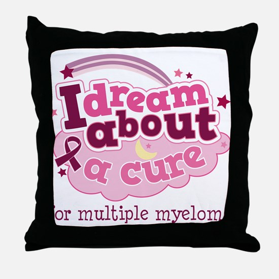 Multiple Myeloma Cure Throw Pillow
