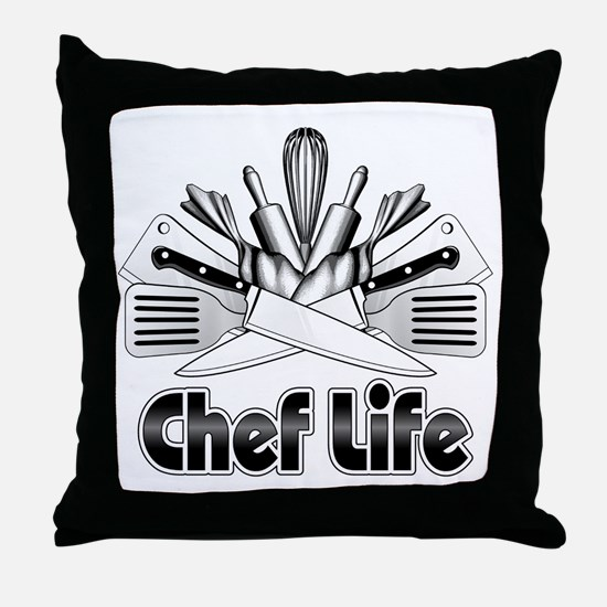 Chef Life Throw Pillow