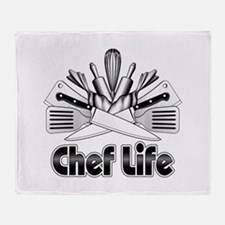 Chef Life Throw Blanket