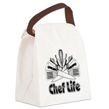 Chef Life Canvas Lunch Bag