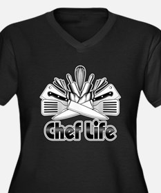 Chef Life Plus Size T-Shirt
