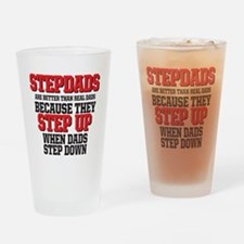 Stepdads step up Drinking Glass