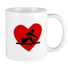 Rowing Heart Mugs