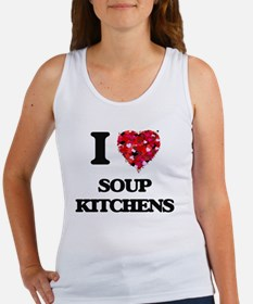 I love Soup Kitchens Tank Top