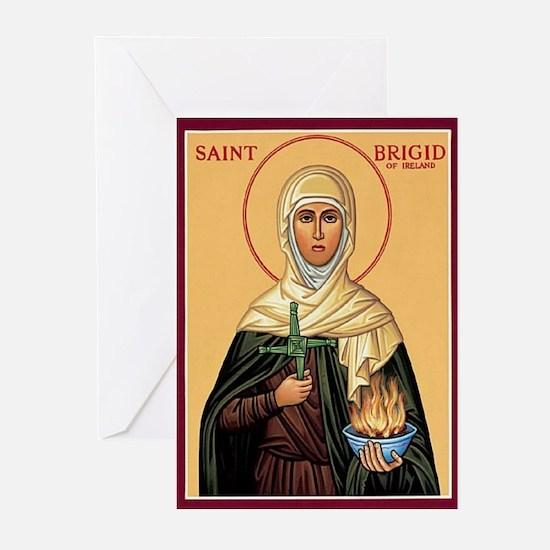 St. Brigid of Ireland Christmas Cards (Pk of 20)
