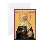 St. Brigid of Ireland Christmas Cards (Pk of 10)