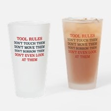 Cute Tools Drinking Glass