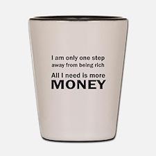 Money Shot Glass