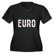 No Euro Plus Size T-Shirt