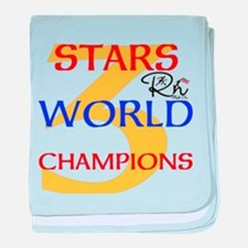 RightOn Champions baby blanket