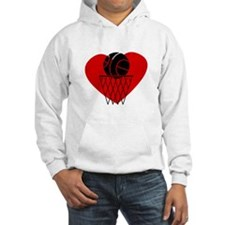 Basketball Heart Hoodie