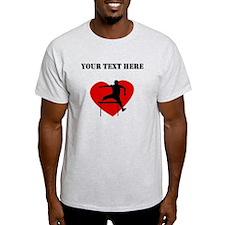 Hurdles Heart (Custom) T-Shirt