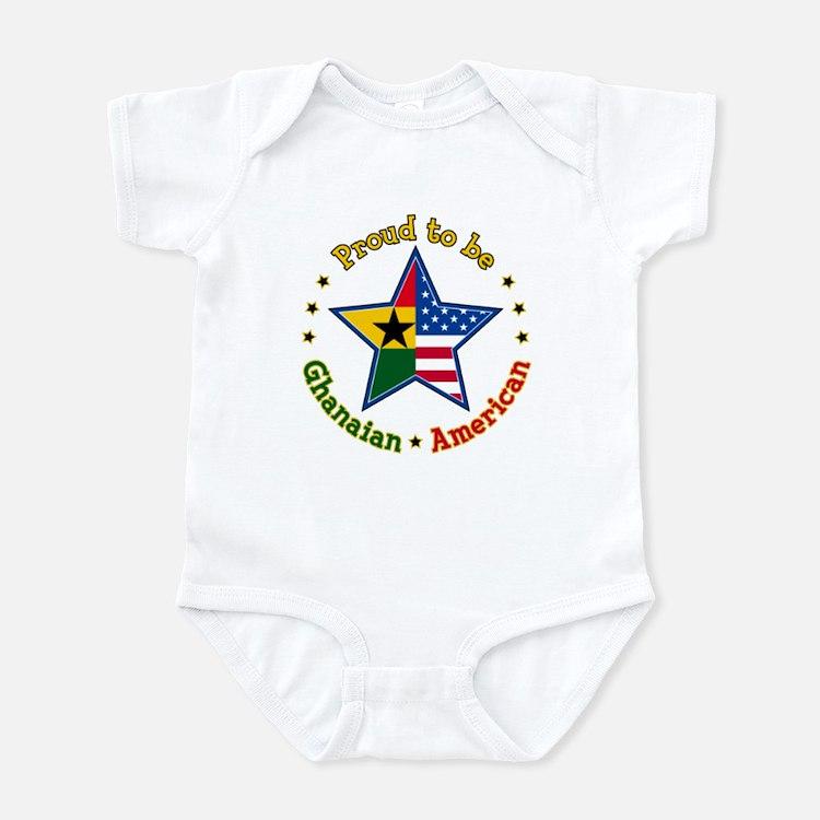 Infant Bodysuit/Ghanaian American