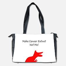 Make Cancer Extinct, Not Me! Diaper Bag