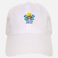 Tacos Brighten the Day Baseball Baseball Cap