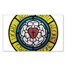 Luther's Rose Decal