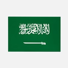 Flag of Saudi Arabia Rectangle Magnet