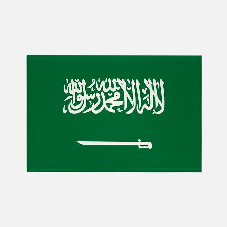 Flag of Saudi Arabia Rectangle Magnet