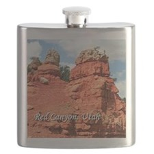 Red Canyon, Utah, USA (caption) Flask