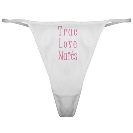 True Love Waits Classic Thong
