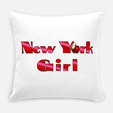 New York Girl Everyday Pillow