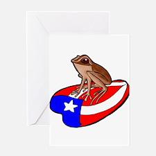 Cute Puerto rico Greeting Card