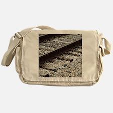 Railroad Track Messenger Bag