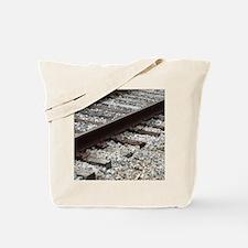 Railroad Track Tote Bag