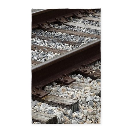 Railroad Track Area Rug