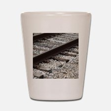 Railroad Track Shot Glass