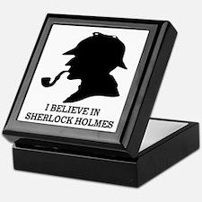 I BELIEVE IN SHERLOCK HOLMES Keepsake Box