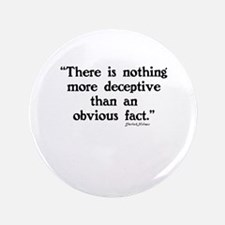 SHERLOCK HOLMES - THERE IS NOTHING  Button