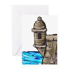 Morro Greeting Card