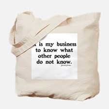 SHERLOCK HOLMES - IT IS MY BUSINESS Tote Bag